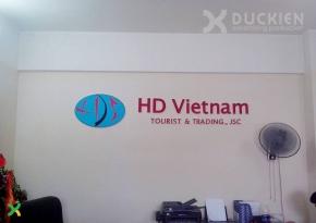 Backdrop công ty HD Việt Nam