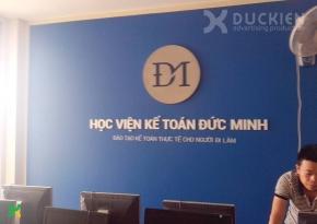 Backdrop công ty kế toán Đức Minh