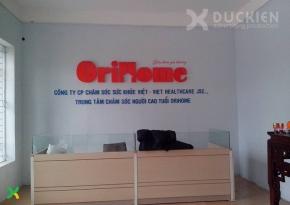 Backdrop Viện dưỡng lão Orihome