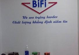 Backdrop nhà máy Bifi