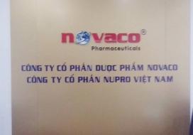 Backdrop công ty Novaco