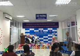 Backdrop sân khấu sự kiện English School