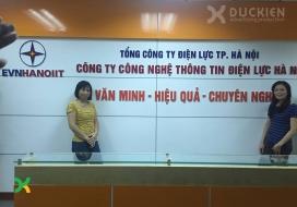 Backdrop EVN Hà Nội