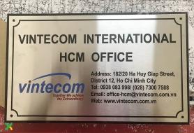 Bien cong ty Vintecom Saigon
