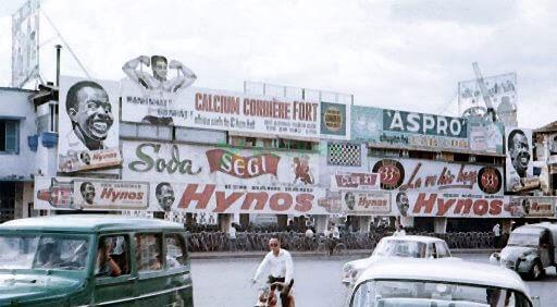 Hình ảnh quảng cáo kem đánh răng Hynos nổi tiếng thế giới