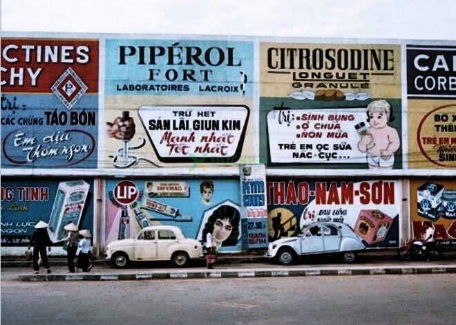 Một khu vực quảng cáo huyền thoại
