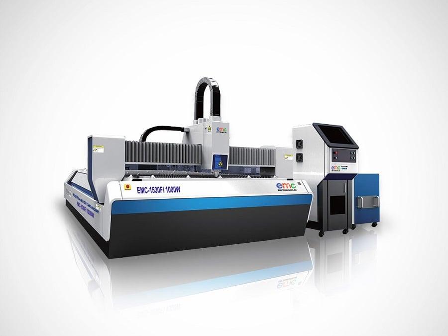 Hệ thống máy cắt fiber chuyên cắt kim loại như đồng, inox, nhôm