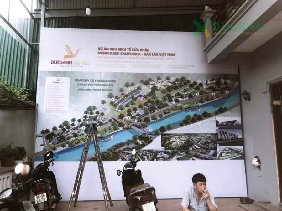 Backdrop dự án Mondulkiri sau hoàn thành