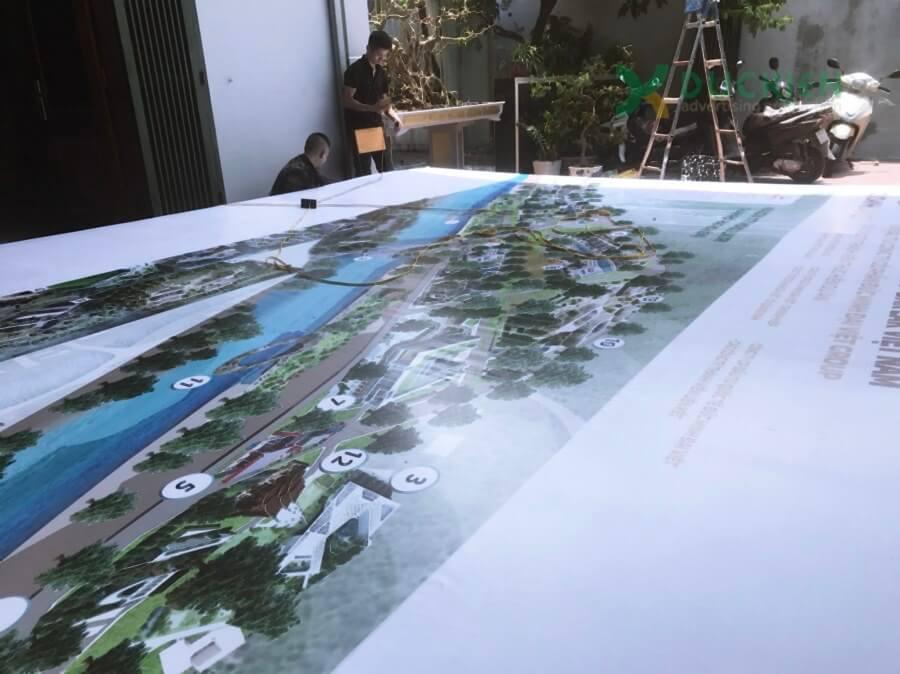 Thi công backdrop cho dự án và sự kiện