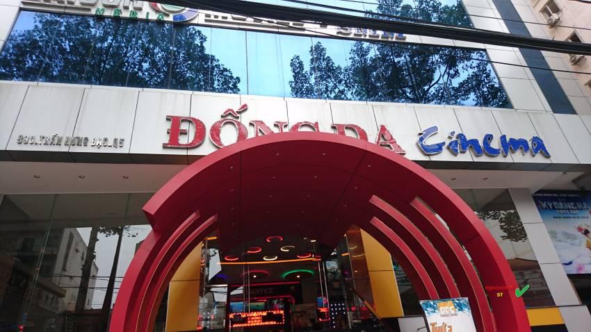 Biển quảng cáo rạp phim tại quận Đống Đa