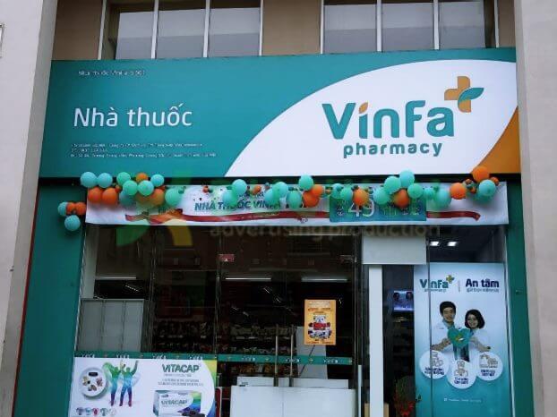 Biển quảng cáo nhà thuốc tại Trung Văn, Nam Từ Liêm