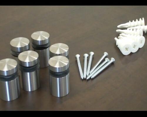 Ốc chân kính và phụ kiện lắp đặt
