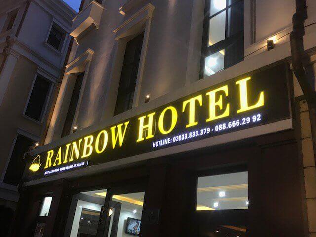 Biển quảng cáo đẹp khách sạn tại Hạ Long