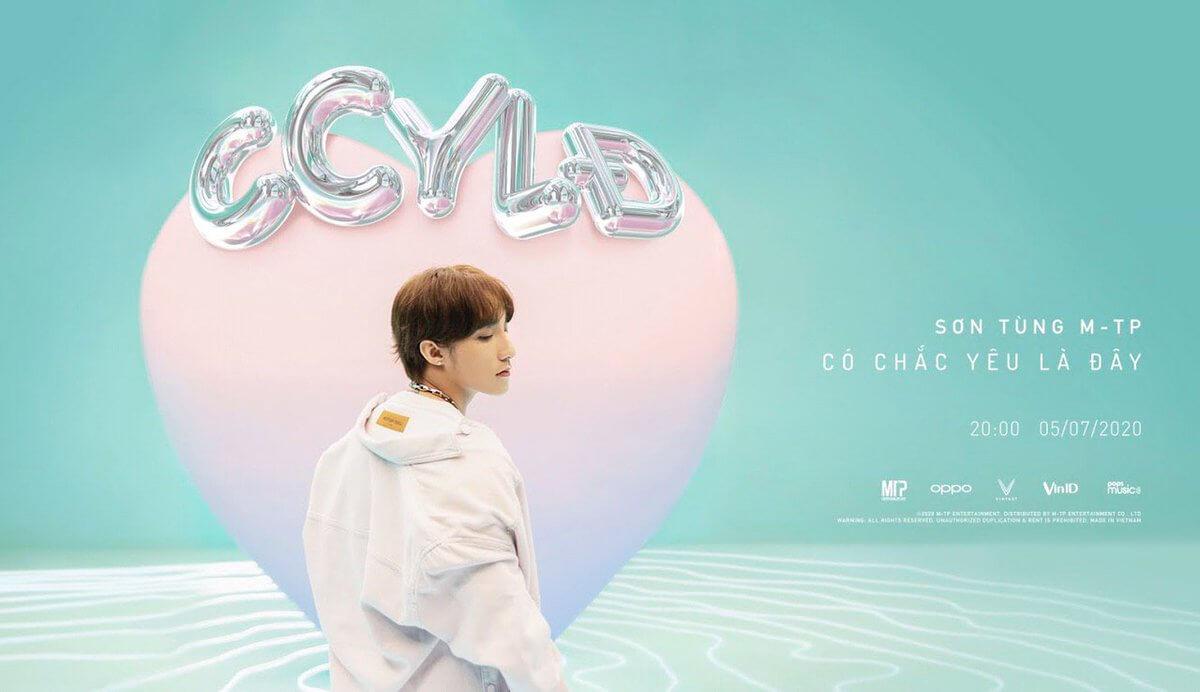 Poster ca khúc mới của Sơn Tùng MTP