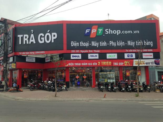 Biển quảng cáo FPT shop tại Gia Lâm
