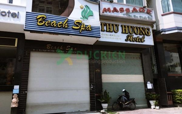 Một số tiệm nail, spa phải dừng kinh doanh giữa tâm dịch