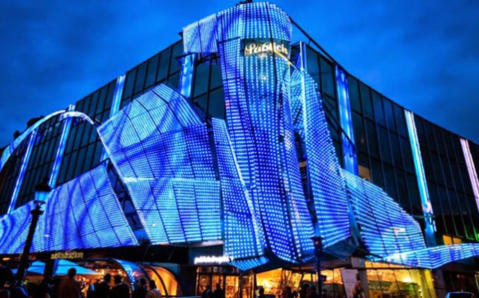 Chiếu sáng mỹ thuật tại một tòa nhà ở Paris