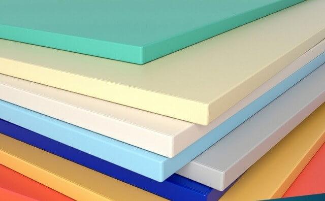 Màu sắc đa dạng của tấm PVC