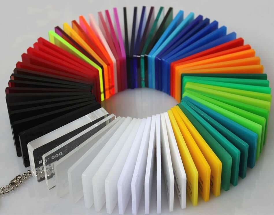 Mica với những màu sắc đa dạng và rực rỡ