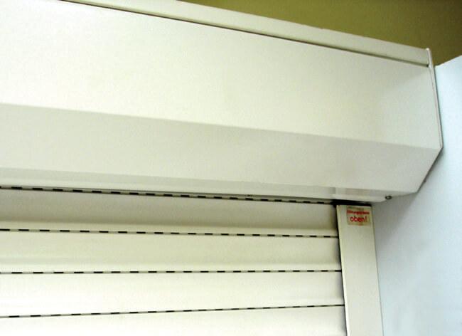 Hộp kỹ thuật cửa cuốn điển hình