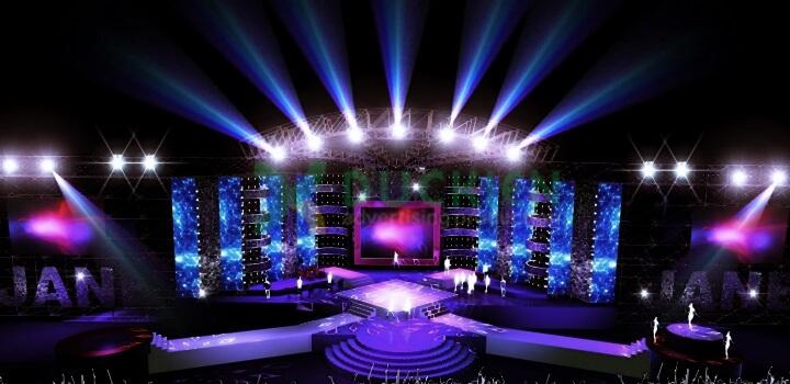 Thiết kế sân khấu là một phần quan trọng trong tổ chức sự kiện