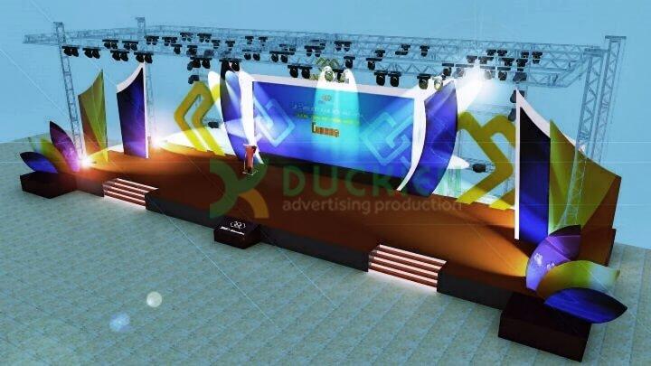 Thiết kế 3D cho sự kiện là một phần của kế hoạch