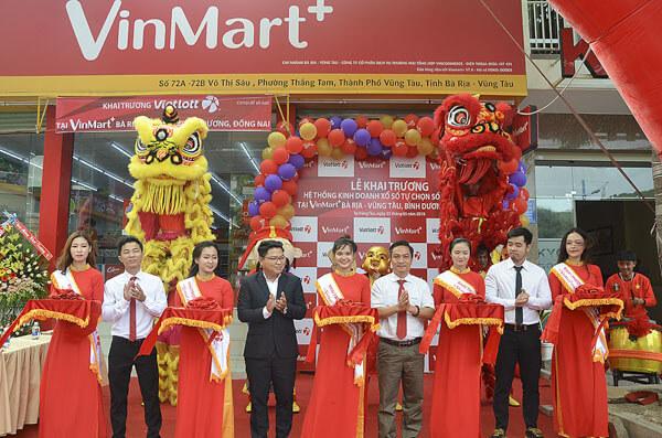 Tổ chức sự kiện khai trương cửa hàng siêu thị VinMart