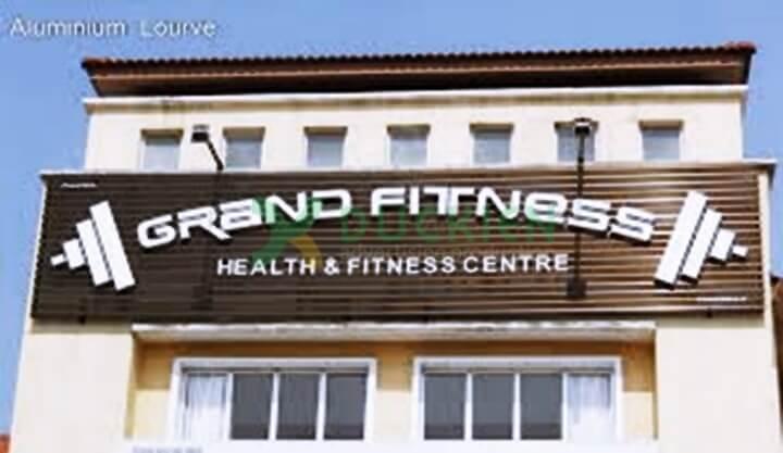 Biển quảng cáo phòng gym cần có sự độc đáo, dễ nhận diện