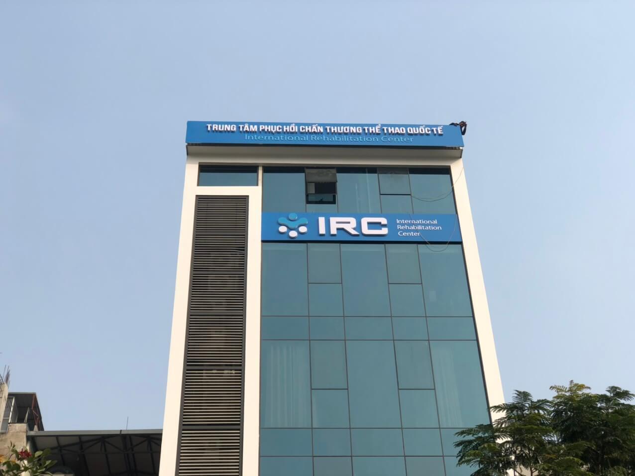 Biển quảng cáo tòa nhà IRC