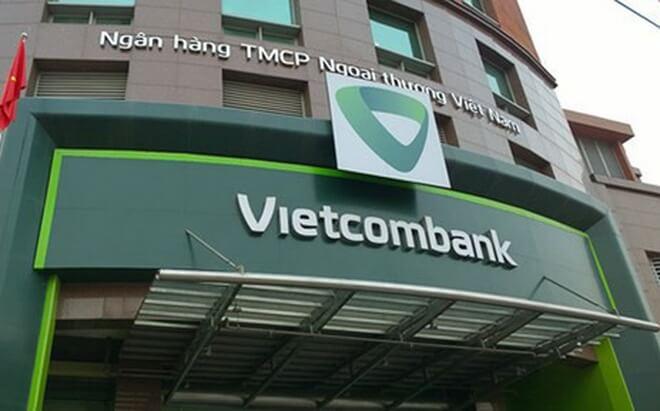 Biển quảng cáo cho ngân hàng Vietcombank