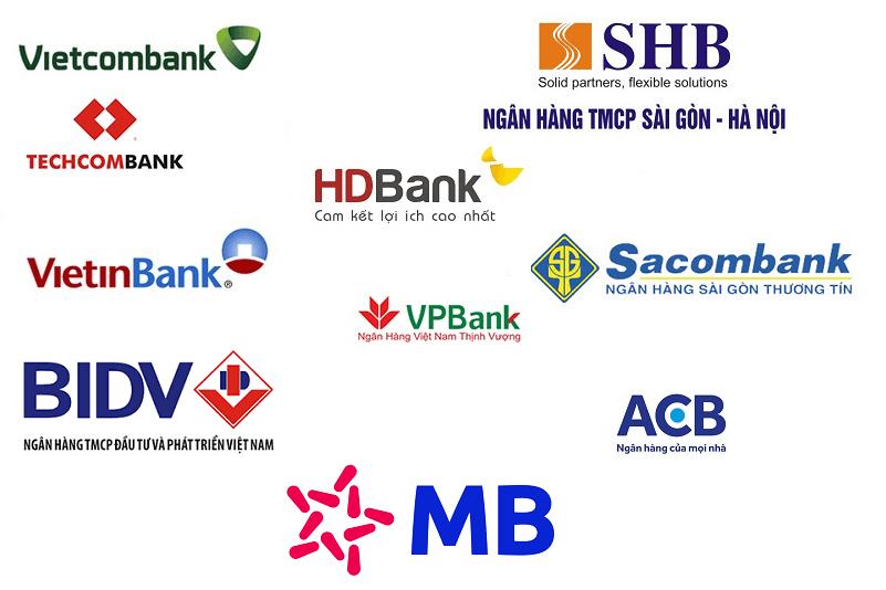 Một số ngân hàng top đầu Việt Nam